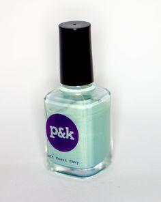 Left Coast Envy  Nail Polish by PamsAndKin on Etsy, $8.00