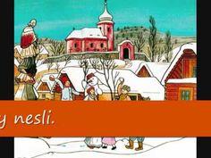 Vánoční koleda - Nesem Vám noviny - YouTube Taj Mahal, Around The Worlds, Seasons, Songs, Mansions, House Styles, Building, Advent, Youtube
