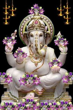 Lord ganesha can be workshipped at any time and at any place and easy for devotees to seek his blessings. Workship lord ganesha on tamil new year to get lot of blessings.
