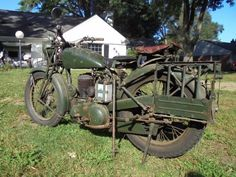 1944-BSA WD  M20 / 500 cc / Built from 1939 to 1945
