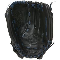 New York Yankees Baseball Glove - Black Leather 13 - WTA600