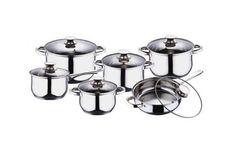 Set oale BLAUMANN de inox cu 5 straturi, acum la pretul de 199 RON in loc de 499 RON  Vezi mai multe detalii pe Teamdeals.ro: Reduceri - Set oale BLAUMANN de inox cu 5 straturi, acum la pretul de 199 RON in loc de 499 RON   Reduceri & Oferte   Teamdeals.ro Stove, Candle Holders, Kitchen Appliances, Jar, Home Decor, Gallery, Diy Kitchen Appliances, Home Appliances, Decoration Home