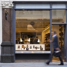 Grey Fox: Joseph Cheaney & Sons new London Flagship Store