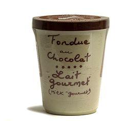 Aux Anysetiers du Roy Gourmet Milk Chocolate French Fondue - 7oz. - Serves 4