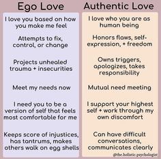 Healthy relationships 475692779394645685 - Ego love is fear based. We can have ego love with family, friends, or partners. In this state we are fear based. We believe someone can… Source by flhullogane Mental And Emotional Health, Mental Health Awareness, Healthy Relationships, Relationship Advice, Coaching, This Is Your Life, After Life, Emotional Intelligence, Self Improvement