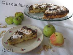 In Cucina Con Amore & Fantasia: Crostata mele, ricotta e pinoli.