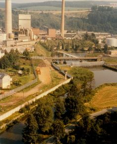 Flusssperre bei der Papierfabrik Blankenstein