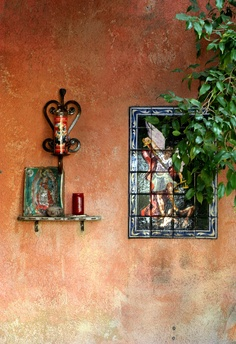 Mexican patios: Mexican influences everywhere