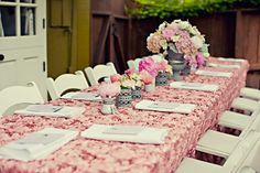 Sweet Baby Girl No 1: Vintage Chanel Inspired Baby Shower - LVL ...