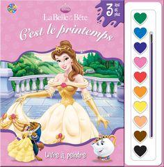 Phidal : Livres à peindre - Disney La Belle et la Bête - 2-7643-1047-1