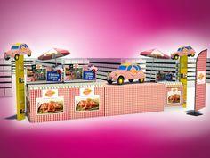 Image de marque Edition Communication opérationnelle PLV POS 2CV / saucisson / Cochonou / tour de france / food La compagnie des images