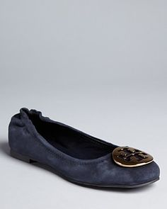 16aa0889ef4c Like the blue suede. But these flats are painful! grrr  235.00 Tory Burch  Ballet