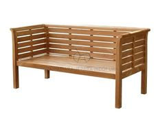 Juned Bench using Highest Quality teak wood made by Indonesian furniture Manufacturers #gardenbench