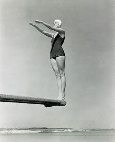 Edward Steichen - Jane Fauntz (Olympic Team), c 1930.