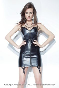 e320e16a1 Coquette P Leather Dress CQD9258