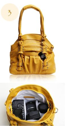 Dream Camera Bag    Epiphanie Bags Mustard Lola - Photography Accessories fa38d490d2d18