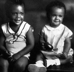 little quincy jones and his baby brother, lloyd