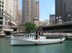 """""""Riverboat cruises, outdoor movies in the park, rooftop bars, comedy clubs, cupcake bakeries, baseball games [are all fun places to go for dates in Chicago]"""" - @JenniferStraub"""
