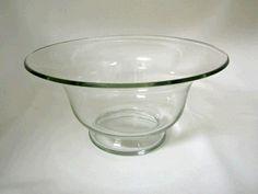 "Glass Bowl, 11"" Diameter #WilliamsPartyRentals #WilliamsSJ #wedding #tabledecor #sanjose #bayarea #rentals #party"