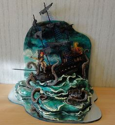 These Deliciously Geektastic Cakes Look Amazing [Pics]