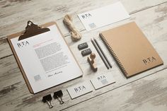 BTA Group Corporate Identity Design