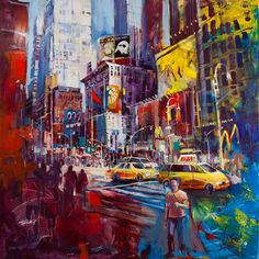 New favorite artist, Voka, the inventor of Spontaneous Realism.     New York City - Voka