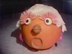 Operatic orange, Sesame Street