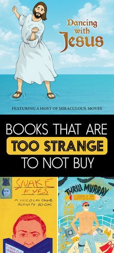 23 Irresistibly Weird Books You Won't Believe Actually Exist
