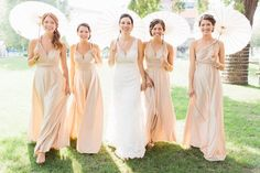 Blush Natural Champagne Made in the USA The ONE Dress multi wrap infinity wear LONG convertible bridesmaids dress by BLCouture on Etsy https://www.etsy.com/listing/234949427/blush-natural-champagne-made-in-the-usa