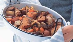 At a loss for hearty side dishes? Try slow-roasting your winter veggies for a delicious dish.