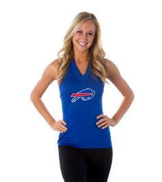 "Buffalo Bills Women's Official NFL """"Blown Coverage"""" Halter"
