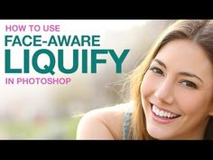 The Face Aware Liquify tool is a new addition to Photoshop CC 2015 with the recent Version update. In today's episode, learn how to adjust facial features using Face-Aware Liquify. Photoshop Face, Funny Photoshop, How To Use Photoshop, Free Photoshop, Photoshop Tutorial, Photoshop Actions, Lightroom, Photoshop For Photographers, Photoshop Photography