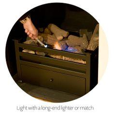 Black Bio Ethanol Fire Grate | Apartment / Suite: 'Snug ...
