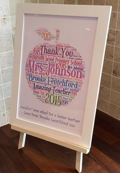 £12.50 And the Award for the Best Teacher / Best Teaching Assistant goes to ………… Show your appreciation for your child's teacher by giving them this thoughtful gift.