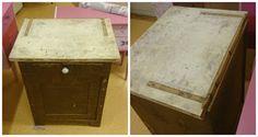 HJERTEHJORT: En gammel Toalett-benk!