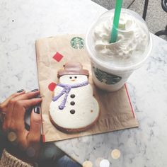 Starbucks winter yum