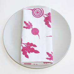 Foxy & Winston: Organic Cotton Napkin Sets, in Assorted Patterns