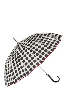 Polka Dot Panel Automatic Umbrella by SHEDRAIN on @nordstrom_rack