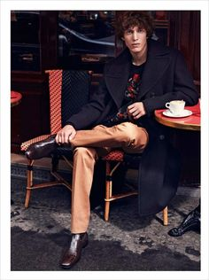 Xavier Buestel and Florent Strambio for GQ France November 2016 Issue