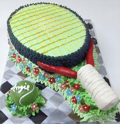 Torta Raqueta de Tenis de Pastelería dCondorelli  - www.dcondorelli.cl - Santiago, Chile