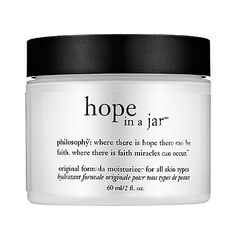 Philosophy Hope in a Jar. I only had a sample of this but it was the most vile beauty product I have ever smelled. And it doesn't do that great of a job moisturizing either. Felt heavy. BUT THAT SMELL. D: