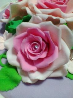 Rosa rosa😃 - Cake by Monica