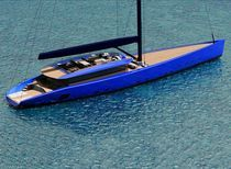 "Velero de crucero : super-yate de vela de lujo (deck saloon, con fly) - BETTER PLACE - 50.5m - 165' 8""ft - Wally"