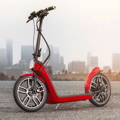 MINI's Citysurfer scooter concept anticipates a car-less future for urban areas