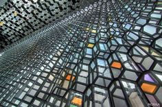 Harpa music hall and conference center, Reykjavik, Iceland #architecture  http://www.morka.fr