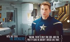 Love Capt. America