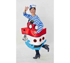 Halloween Sewing, Marines, Donald Duck, Ronald Mcdonald, Disney Characters, Fictional Characters, Carnival, Dress Up, Boat