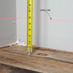 Find the High and Low Spots in a Floor: How to Use a Laser Level http://www.familyhandyman.com/tools/how-to-use-a-laser-level