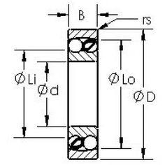 Bearing Type - double row self-aligning Self, Balls, Branding