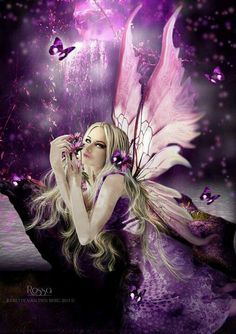 Fairy. Purple